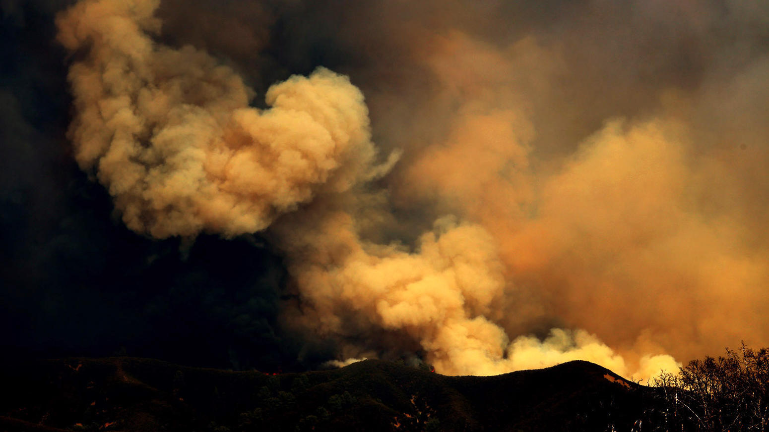 Rocky fire in Northern California
