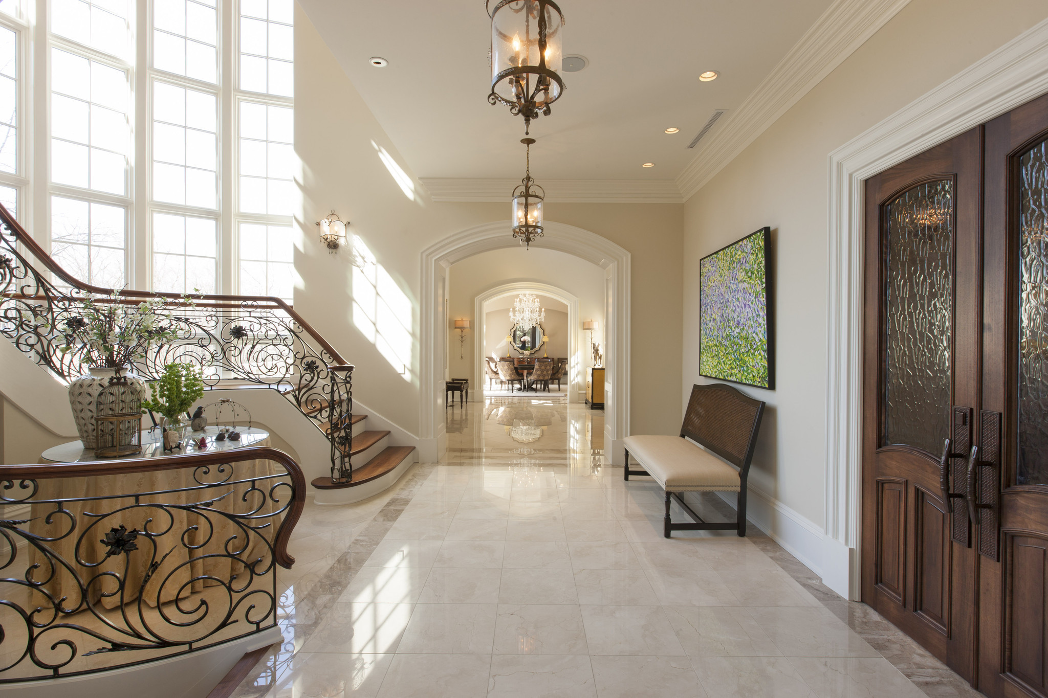 Stunning 13m French Provincial Home In Barrington Hills