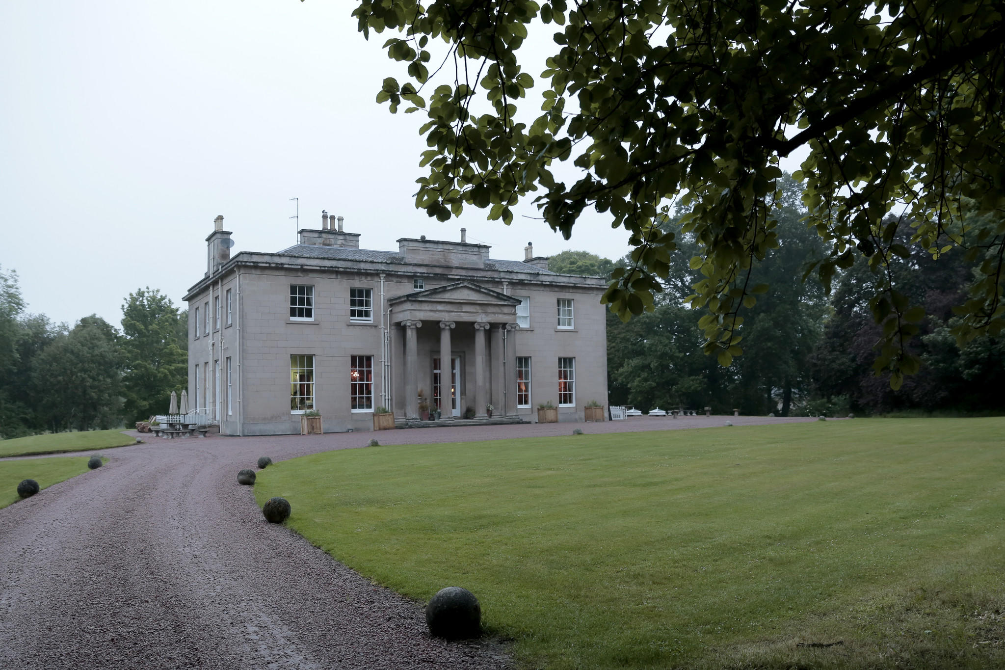 The Boath House in Auldearn