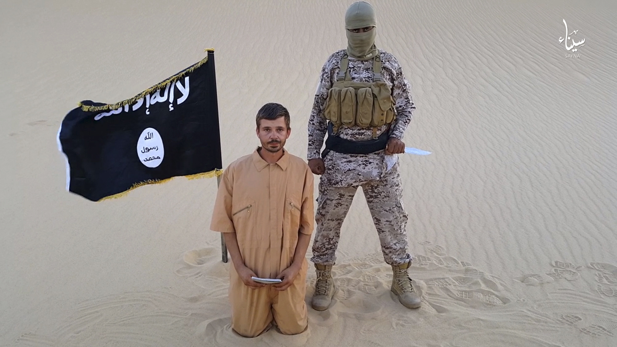 Islamic State's Egypt affiliate threatens to kill Croatian captive