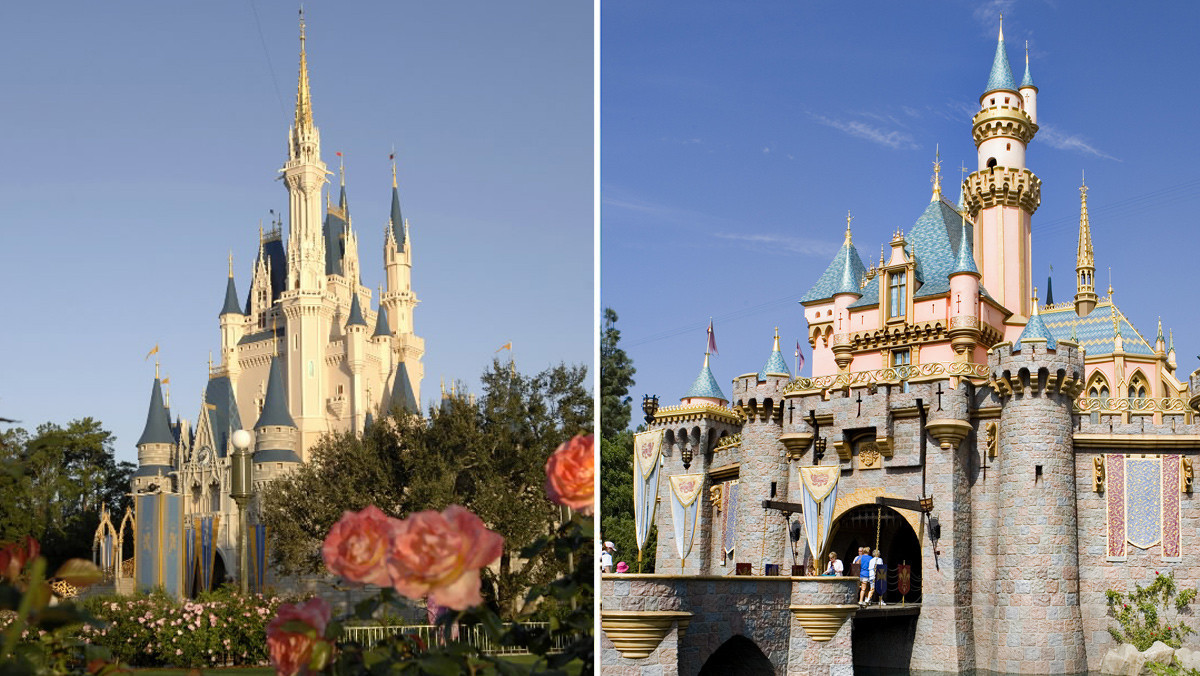 Pictures Disney World vs Disneyland Orlando Sentinel