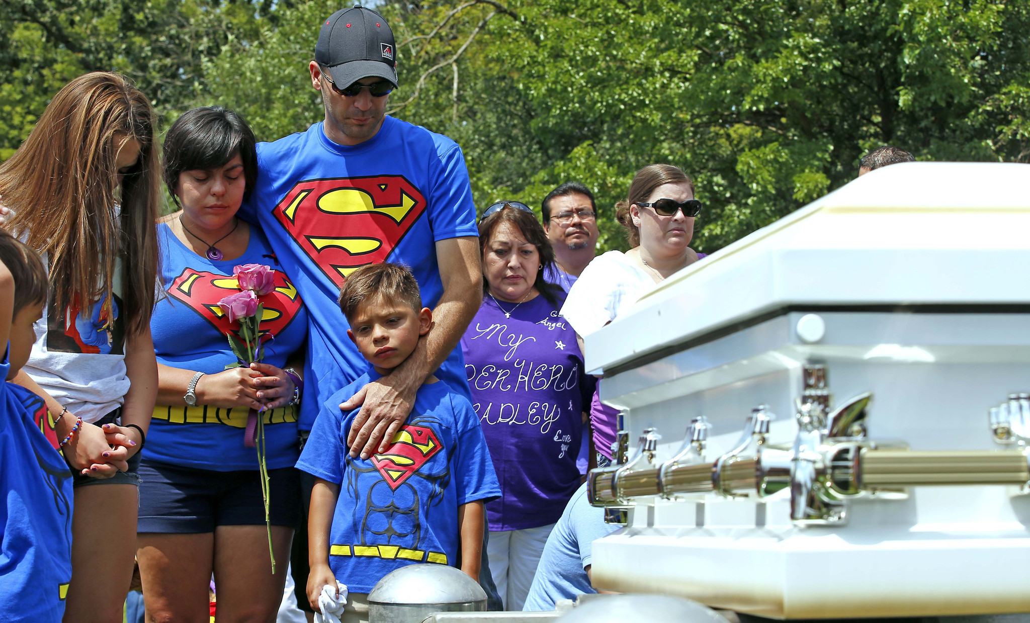 Family mourns drowning of 'superhero' toddler with rare epilepsy
