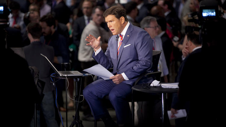 Bret Baier 'locked and loaded' for debate