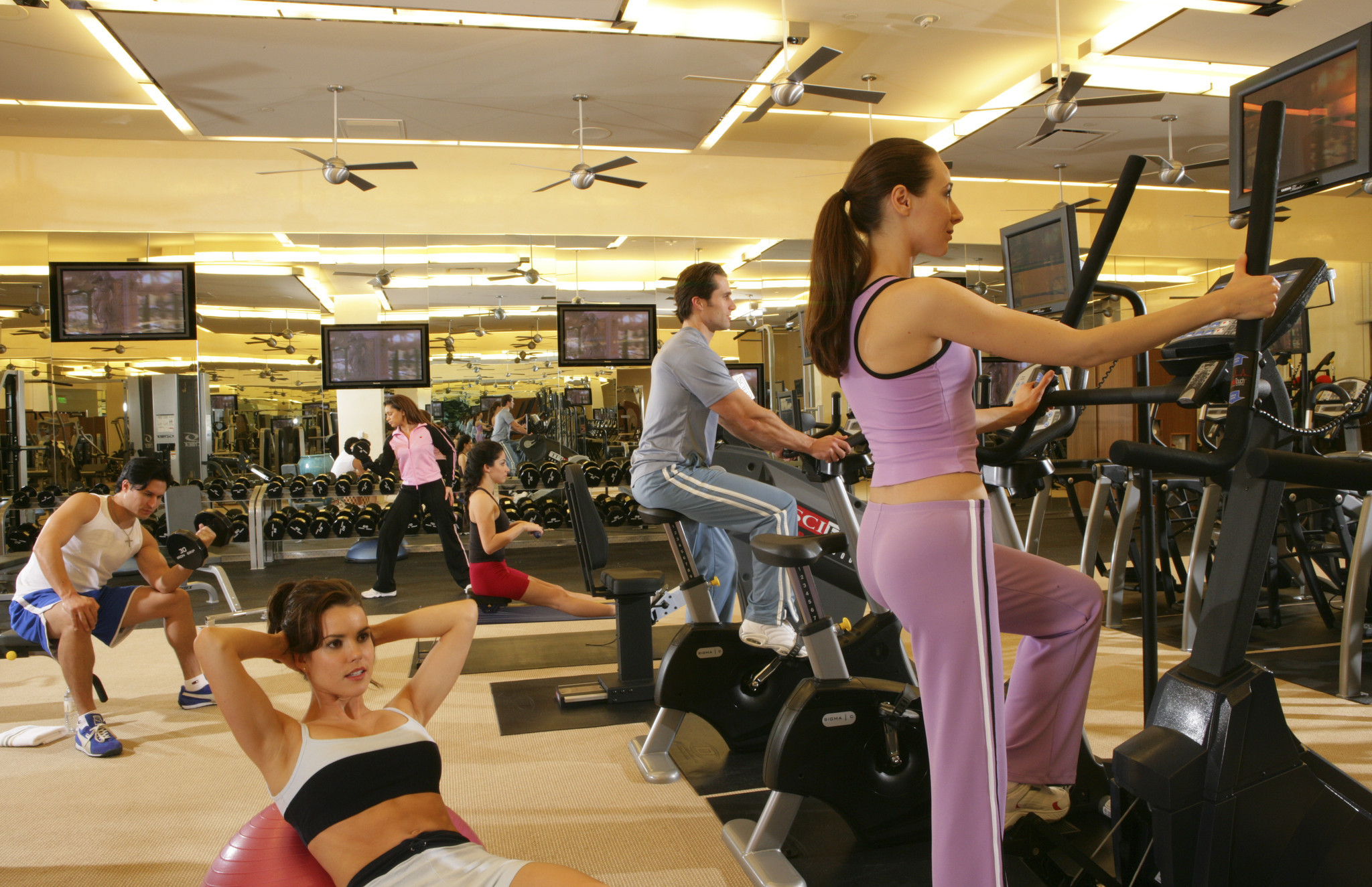Seven Million Sign Ups >> Seven ways to work out and stay healthy in Las Vegas - LA Times