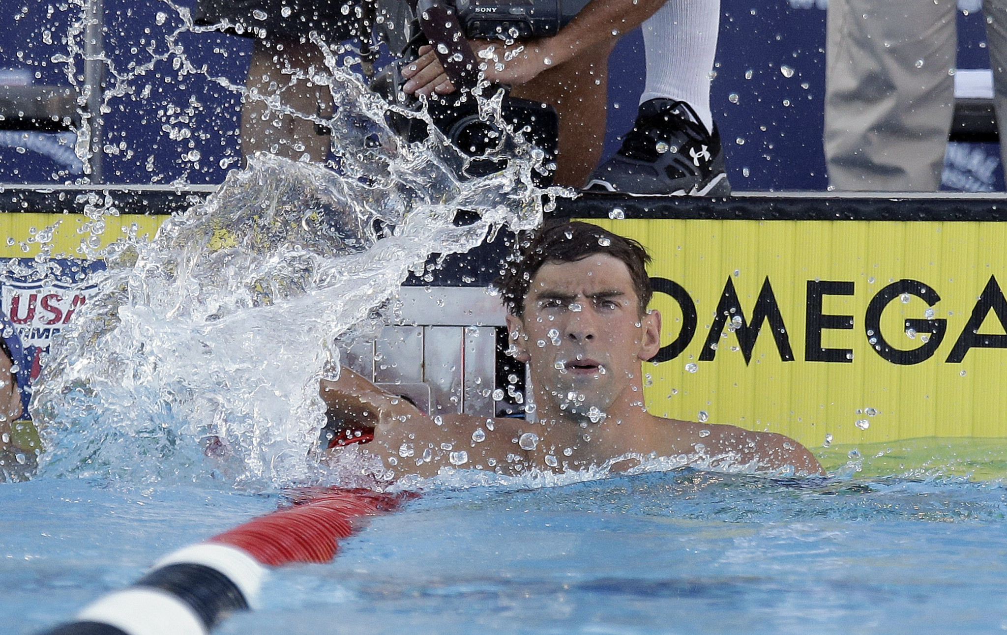 Michael Phelps Goes 3 For 3 At Nationals With Another Strong Swim Baltimore Sun