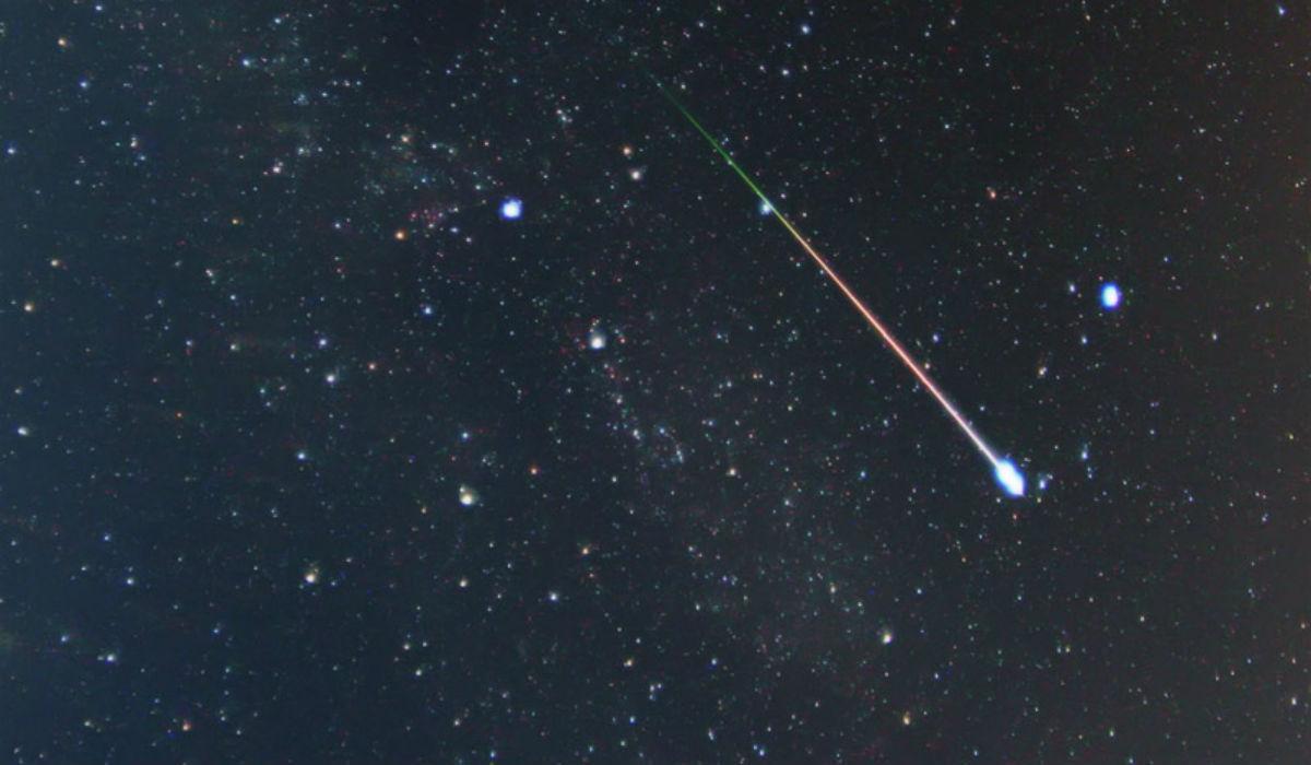 Pretty Prolific Meteor Shower On Wednesday Night