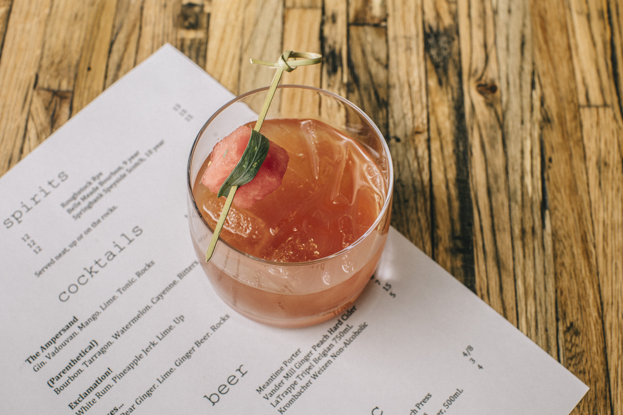 Parenthetical cocktail chicago tribune for Ampersand chicago