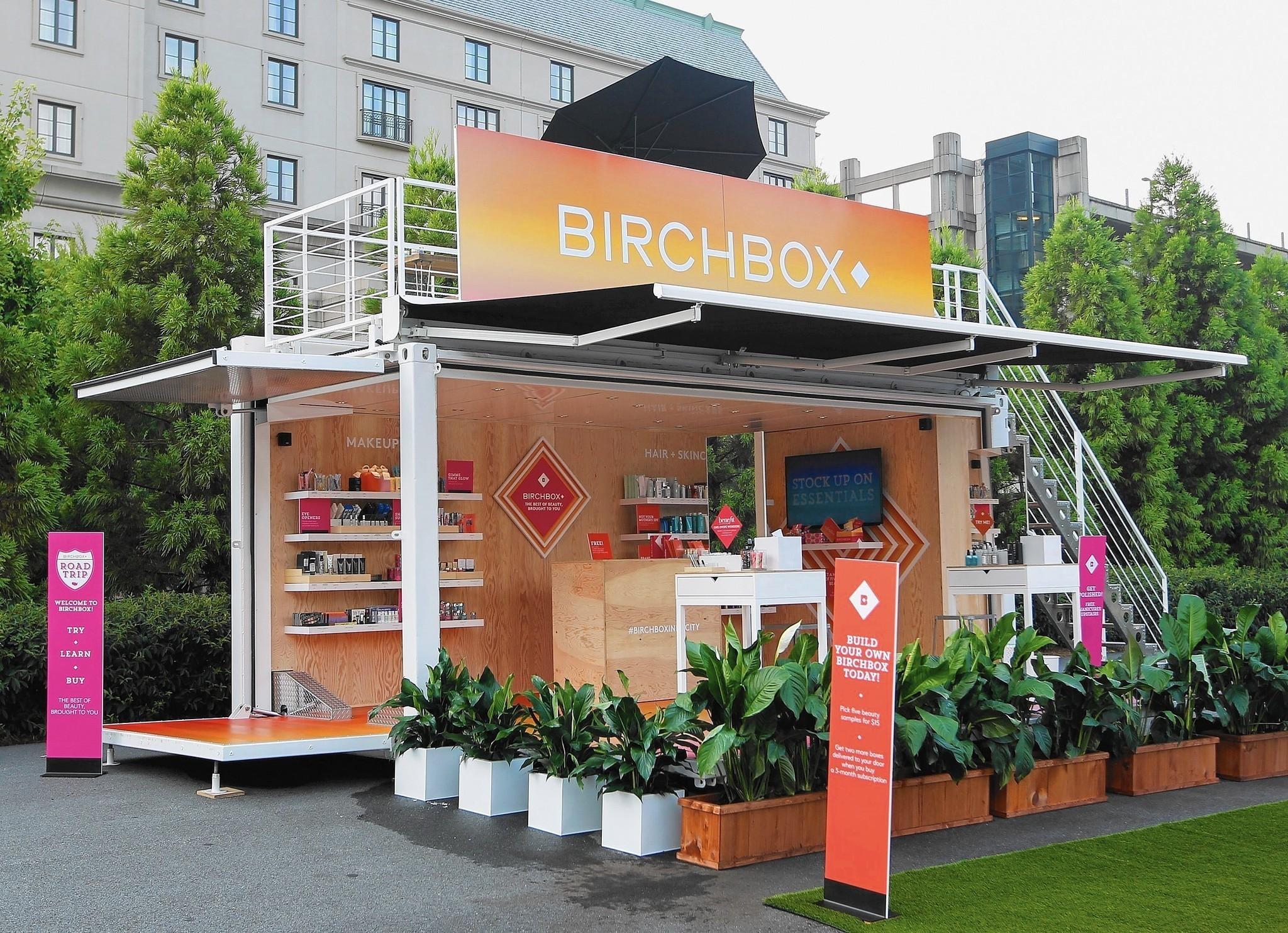 Birchbox popup