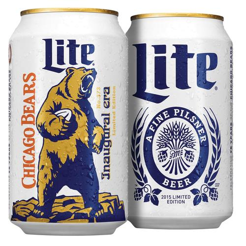 Image result for Chicago bears beer