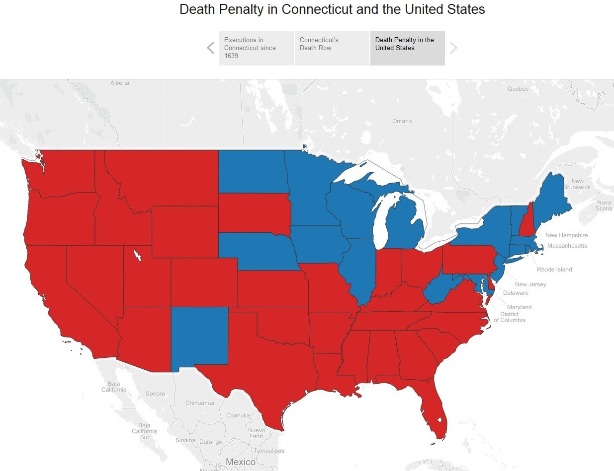 Interactive: The Death Penalty in Connecticut Since 1639 - Hartford ...