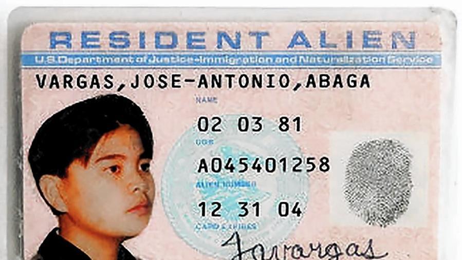 resident alien card