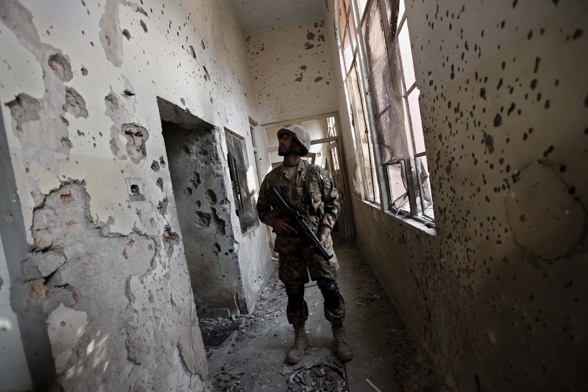 Pakistan military OKs death sentences for 6 school attackers