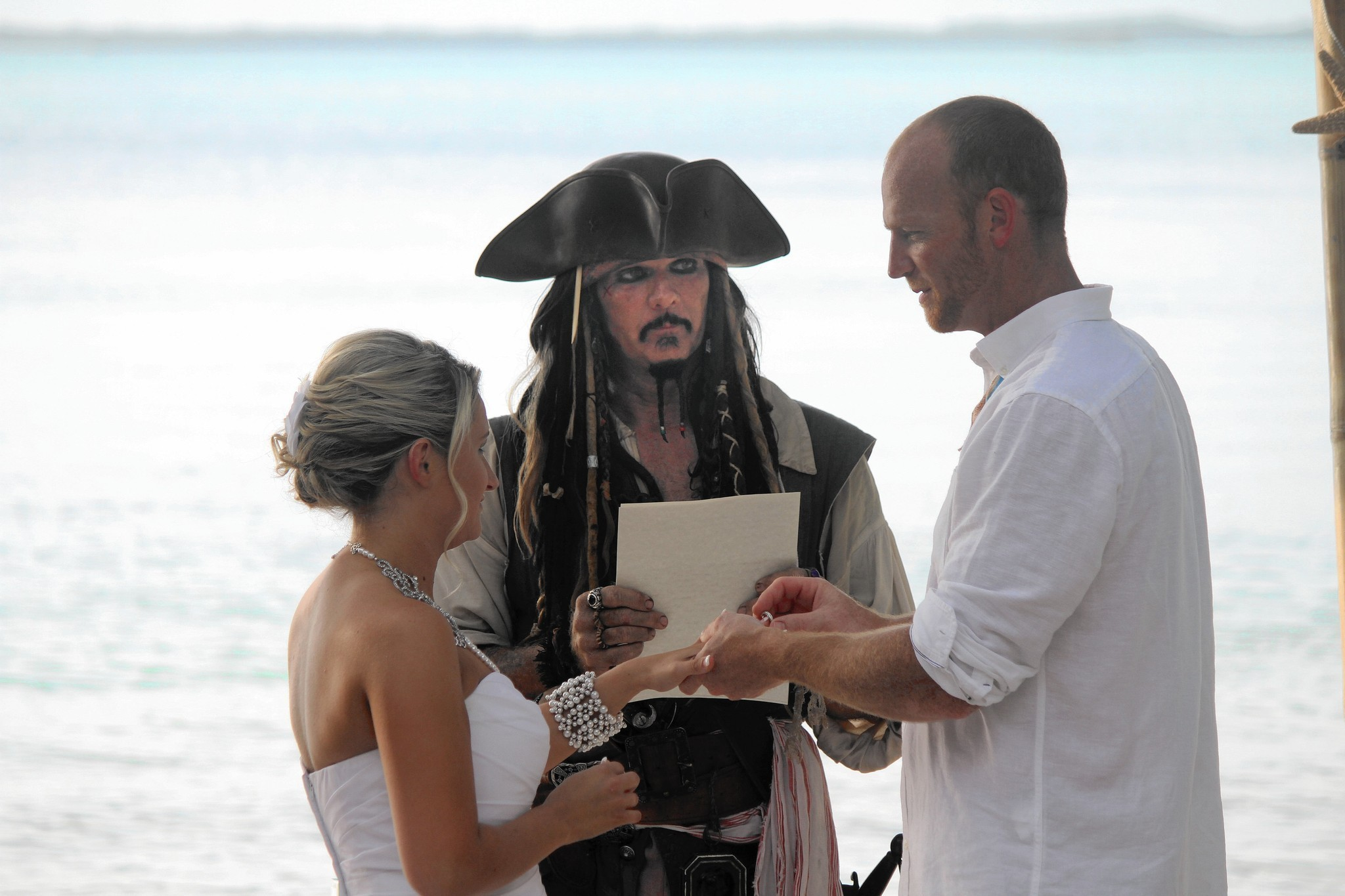 Florida Man Adopts Jack Sparrow Persona To Officiate Weddings
