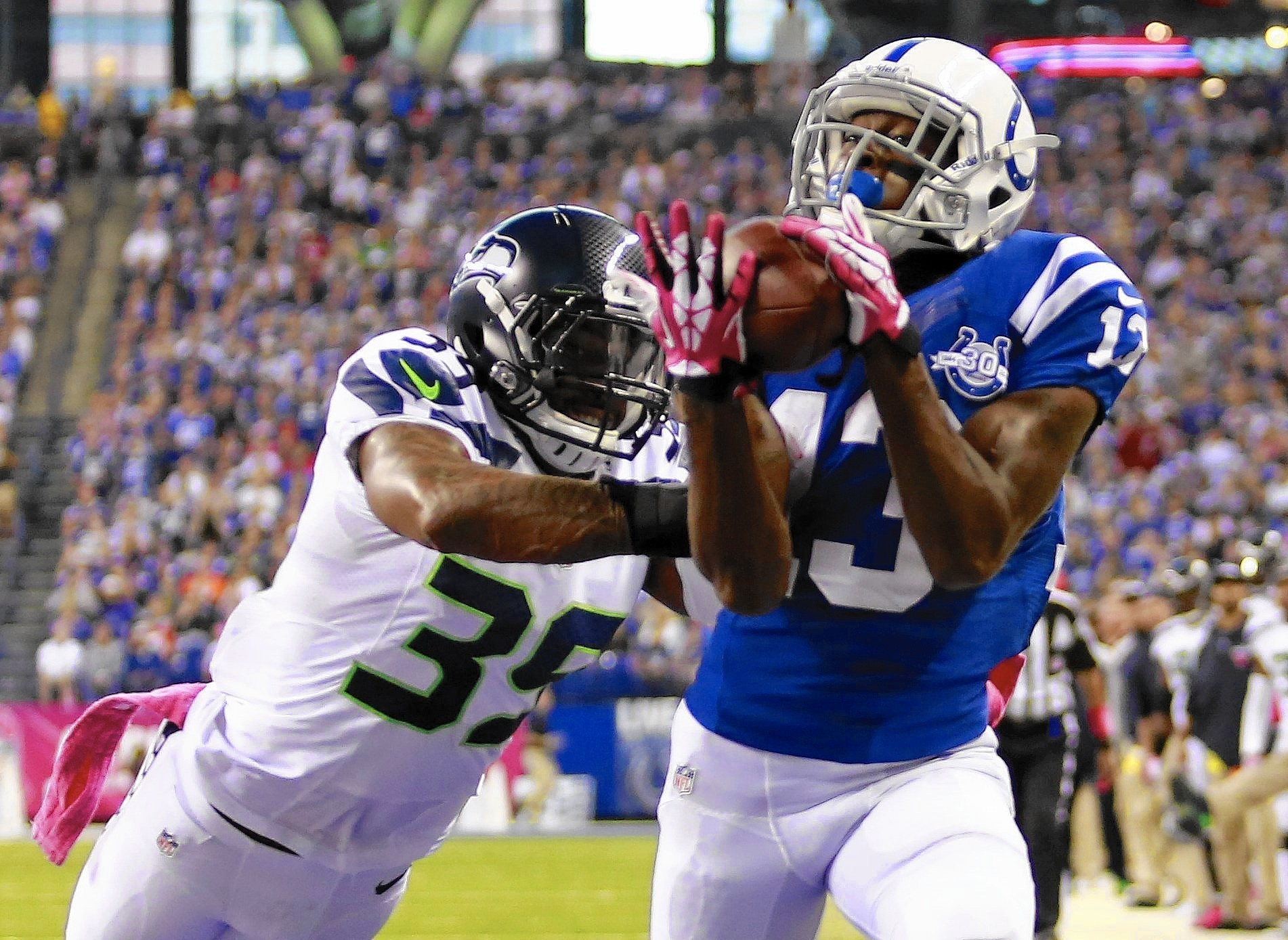 Colts lock up star receiver T Y Hilton for five more years $65