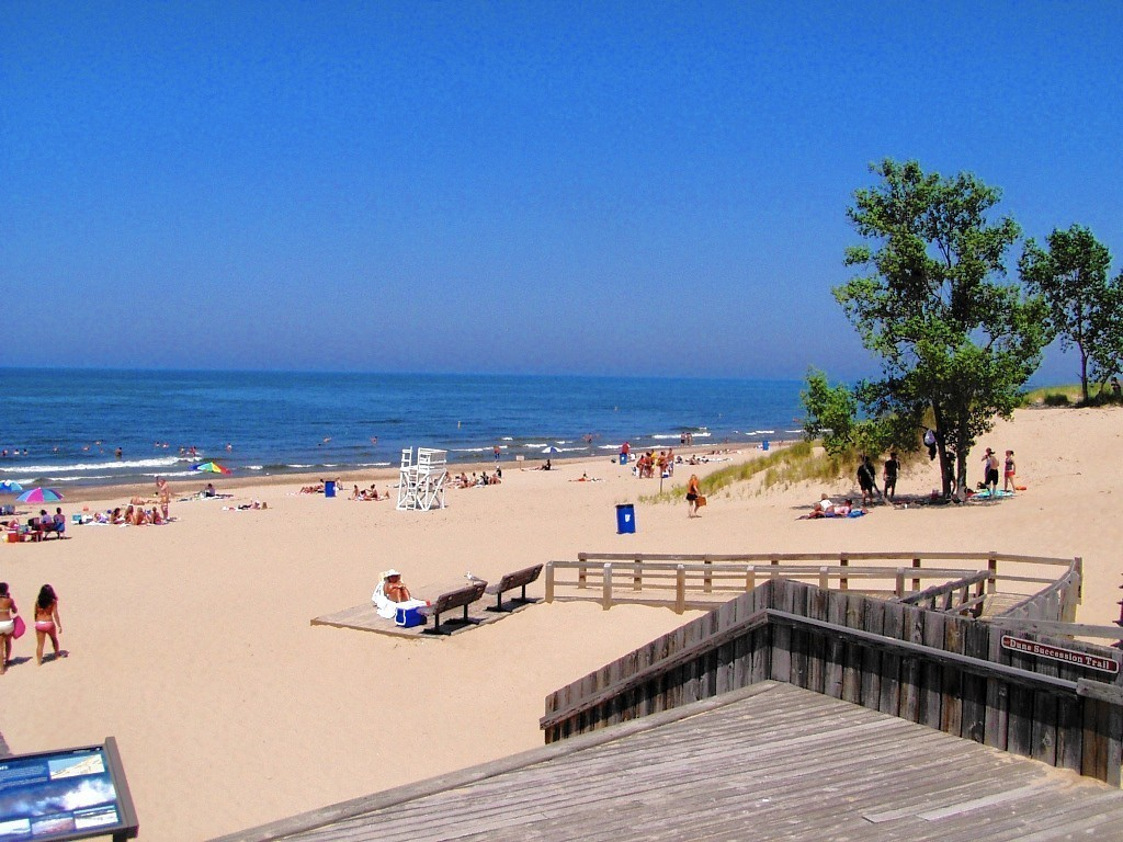 Indiana Dunes West Beach Parking