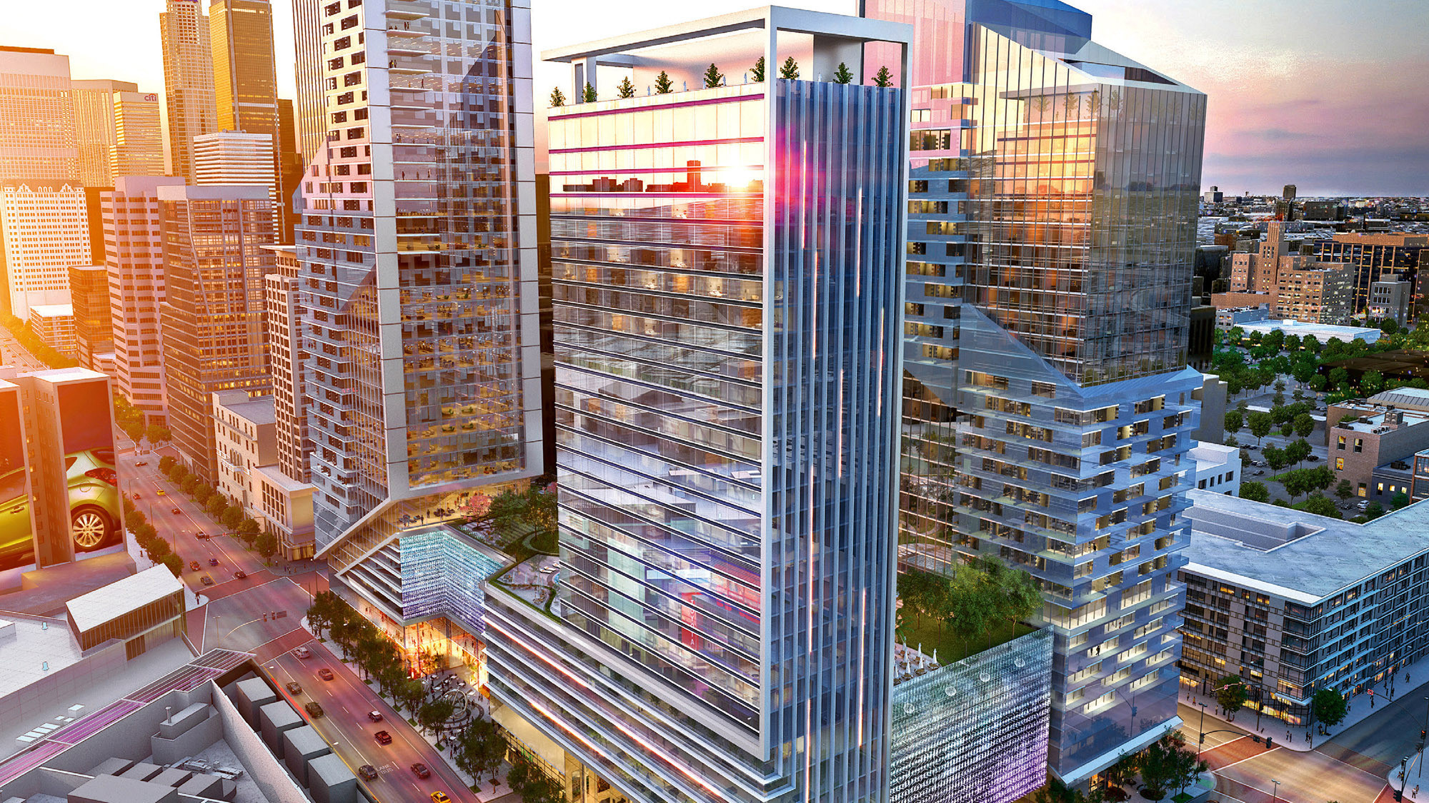 250 Room W Hotel To Be Built In Downtown L A La Times