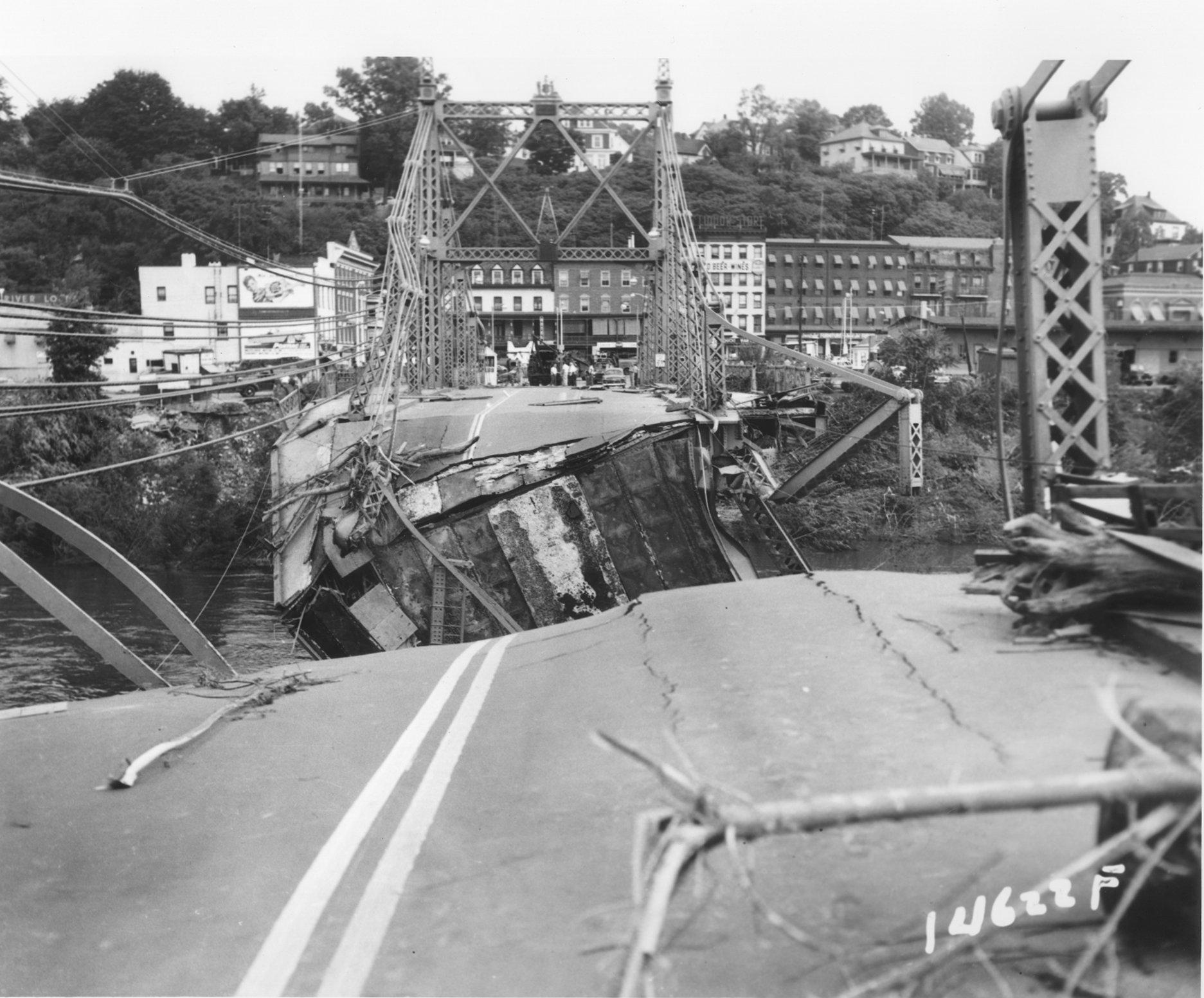 Photos and historic pages hurricane diane hits the lehigh valley in 1955 the morning call