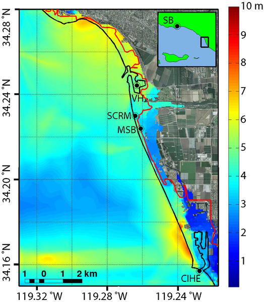 Greater tsunami risk from Southern California quake, study finds