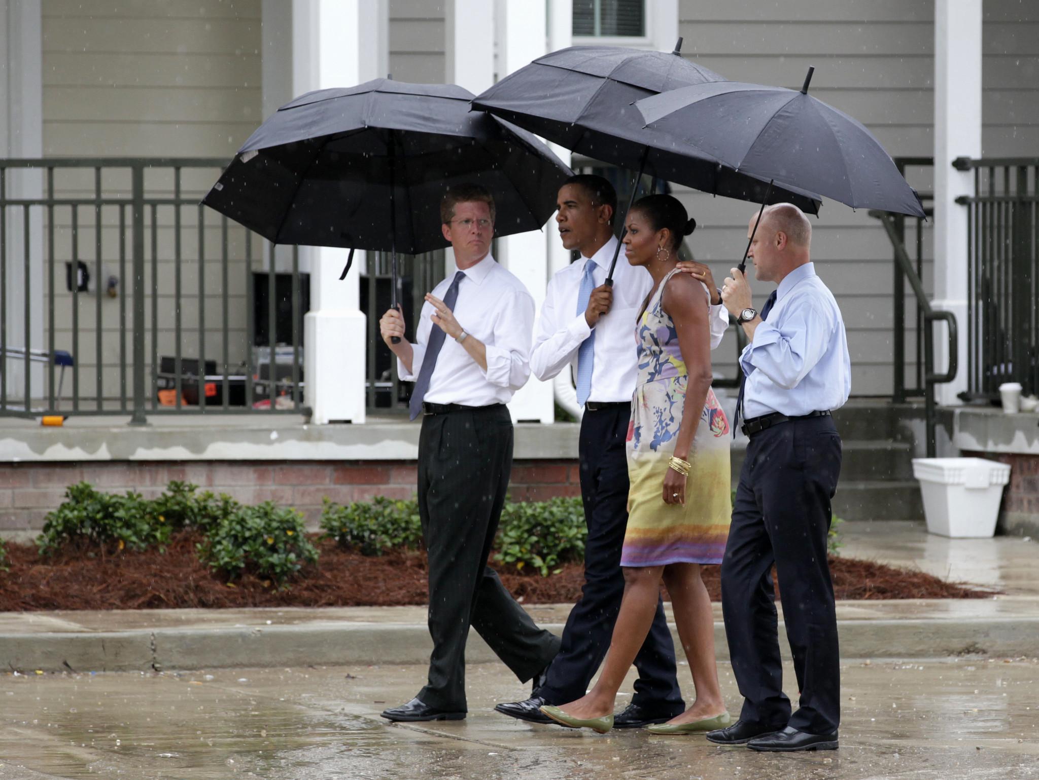 Michelle Obama Tour Disaster Area