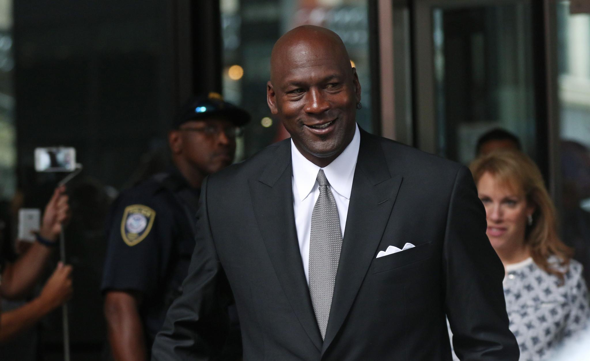 Michael Jordan - Duży i wysoki Pan