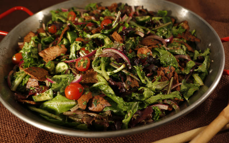 Recipe: Fattoush - California Cookbook