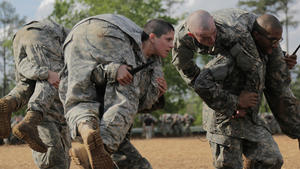 Female soldiers cap history-making week with Ranger School graduation