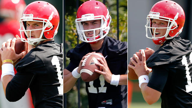 Georgia Football: It's Time to Play…The Musical Quarterback Game!