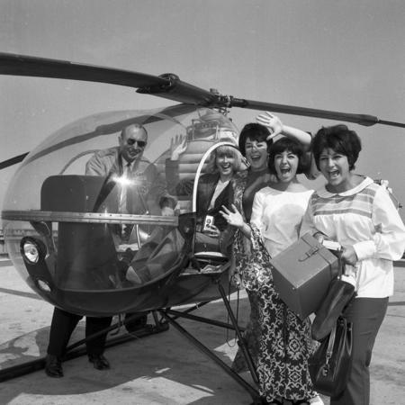 Beatles helicopter