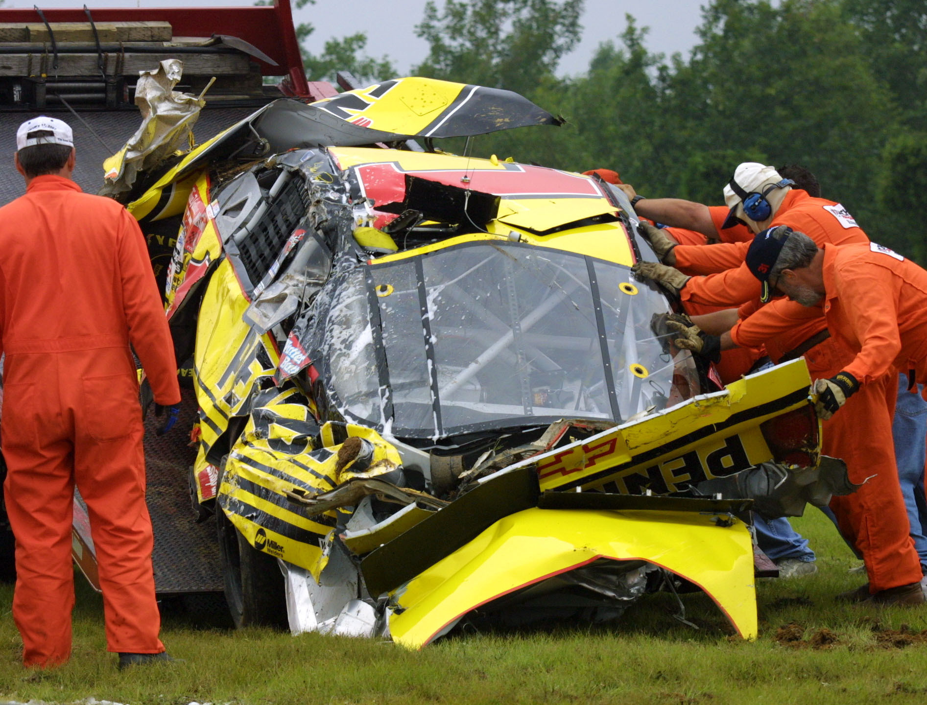Major Crashes At Pocono Raceway The Morning Call