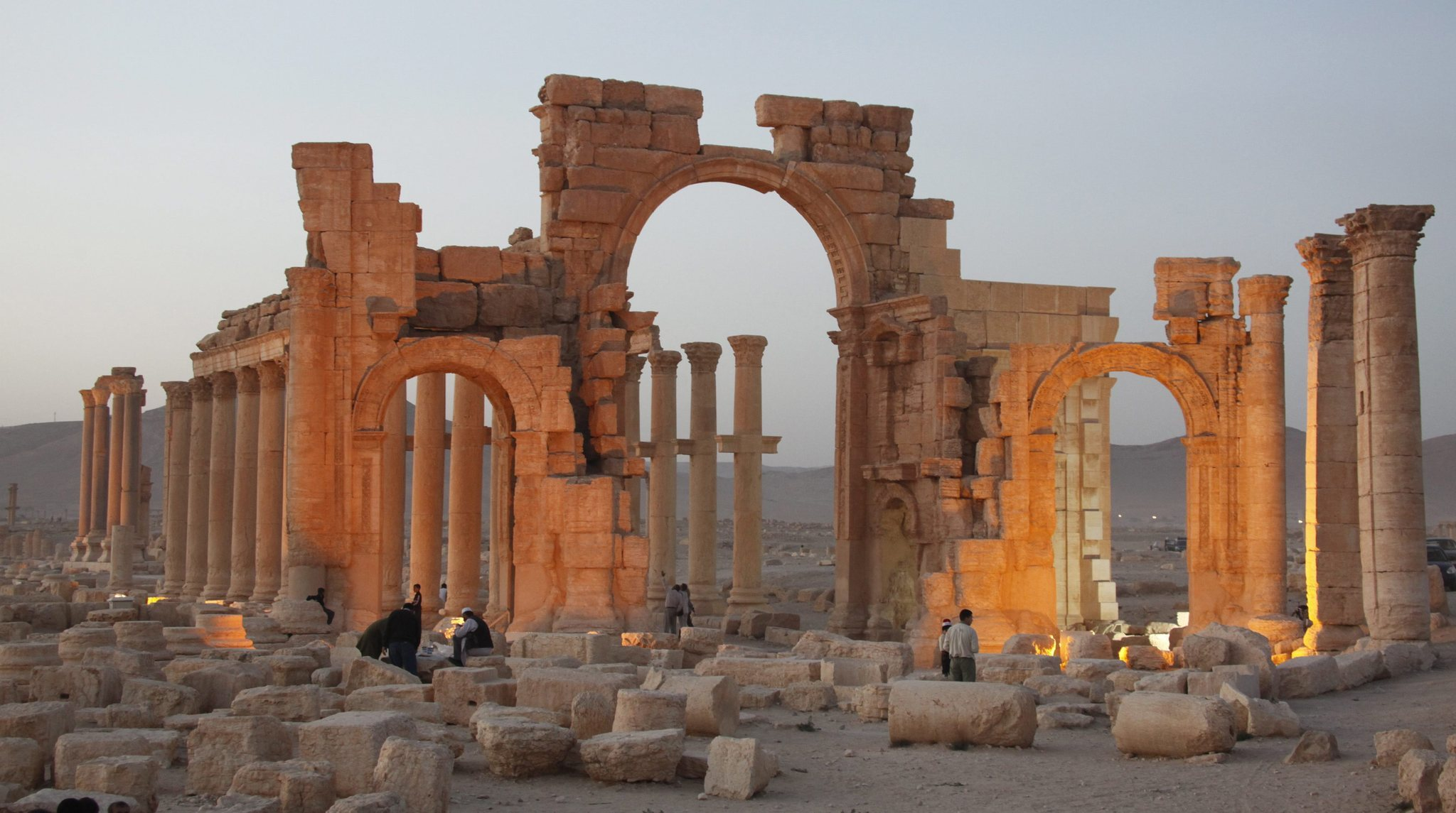 Islamic State evokes more shock with reported destruction of ancient temple