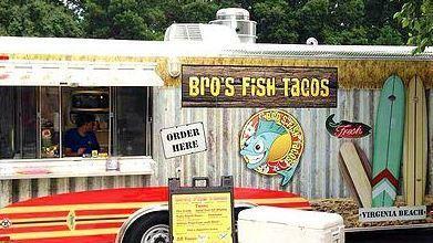 Bro's Fish Tacos will be in downtown Hampton