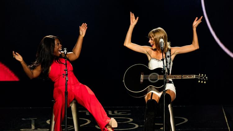 Taylor Swift brings out guest performances during her 1989 World Tour.