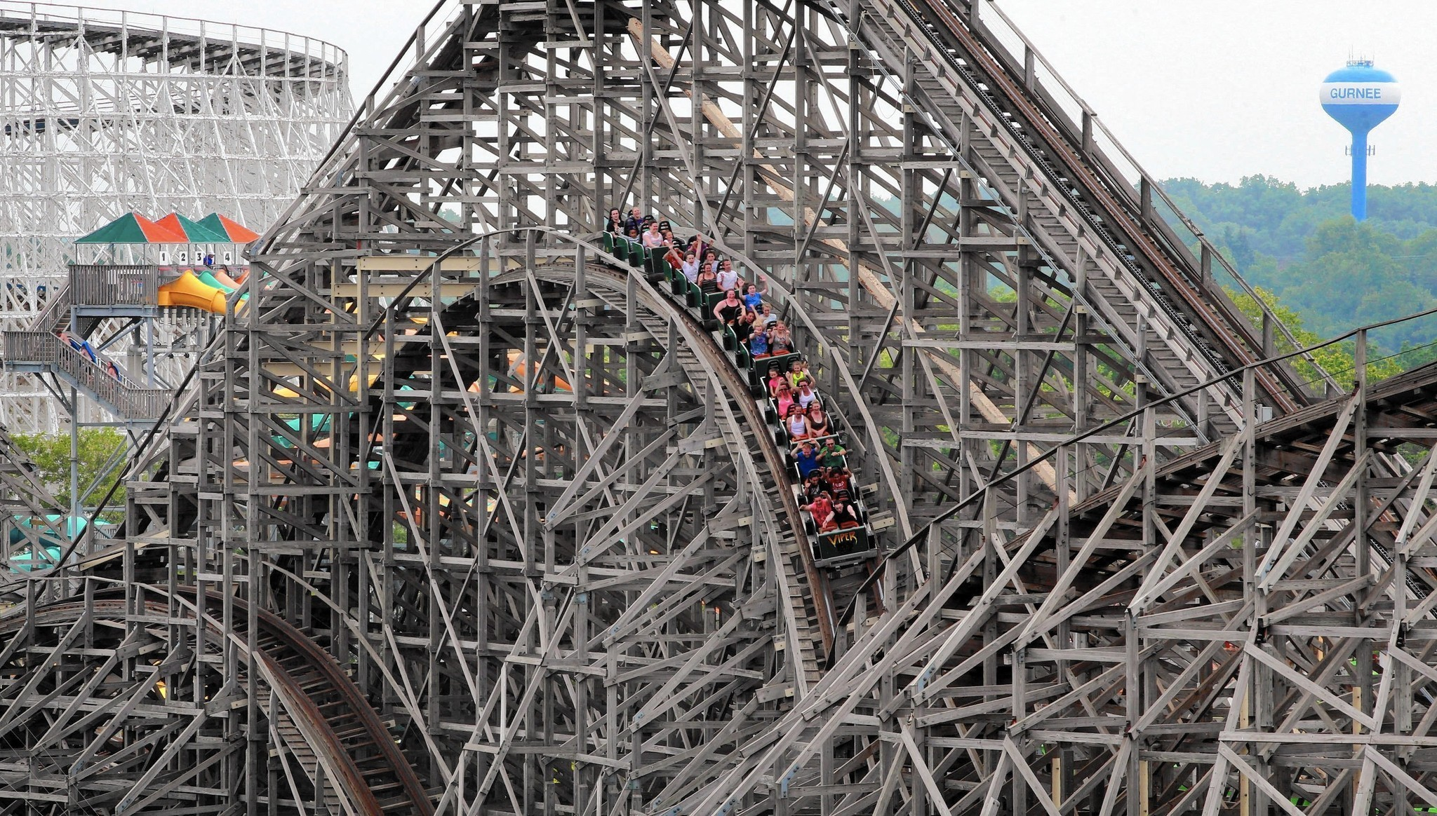 guinness to recognize great america for its record length of