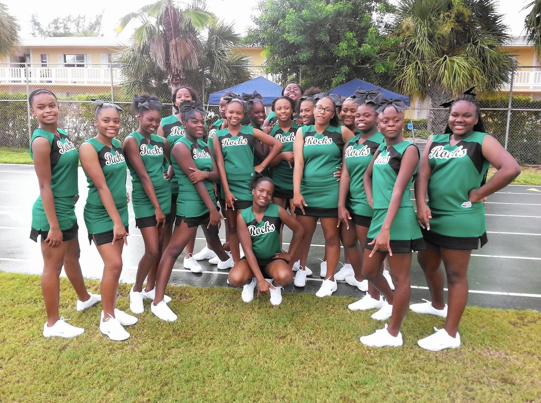 cheerleading and football season start the fall sports season in
