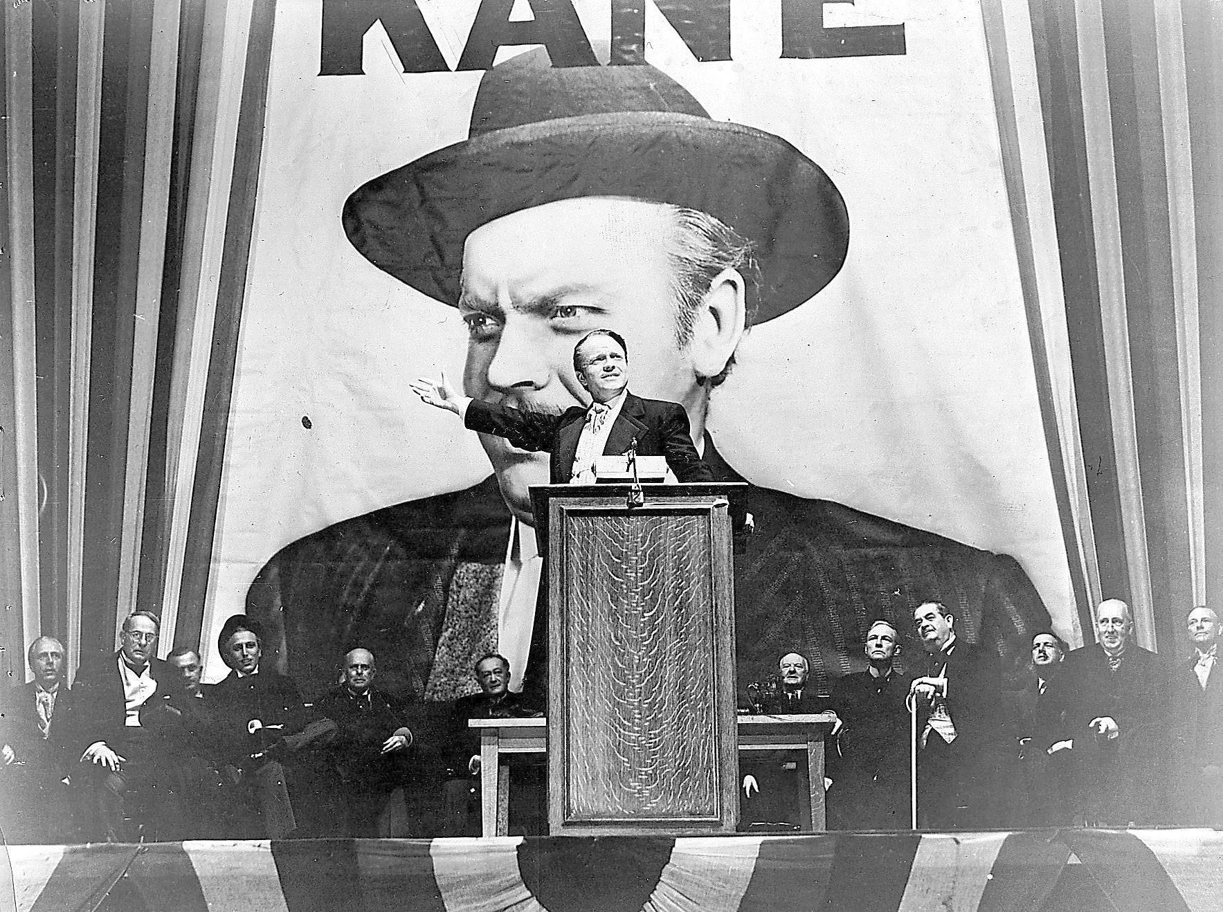 "citizen kane charles foster kane Orson welles stars as media baron-turned-politician charles foster kane in "" citizen kane,"" screening thursday in ontario (courtesy photo."