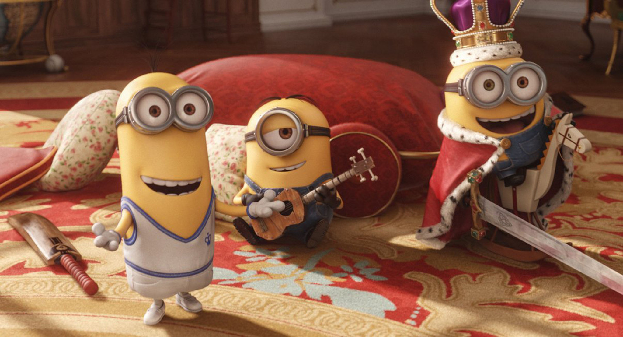 Universal's 'Minions' hits $1 billion in worldwide box office