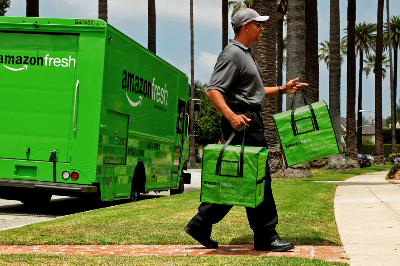 Amazon Is Testing Farmers Market Produce Delivery La Times