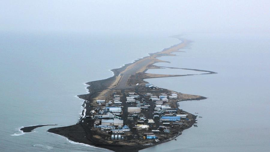 This is climate change: Alaskan villagers struggle as island is chewed up by the sea - Page 2 900x506