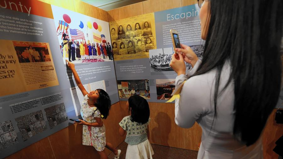 40 years after Saigon's fall, O.C. exhibit tells Vietnamese Americans' stories