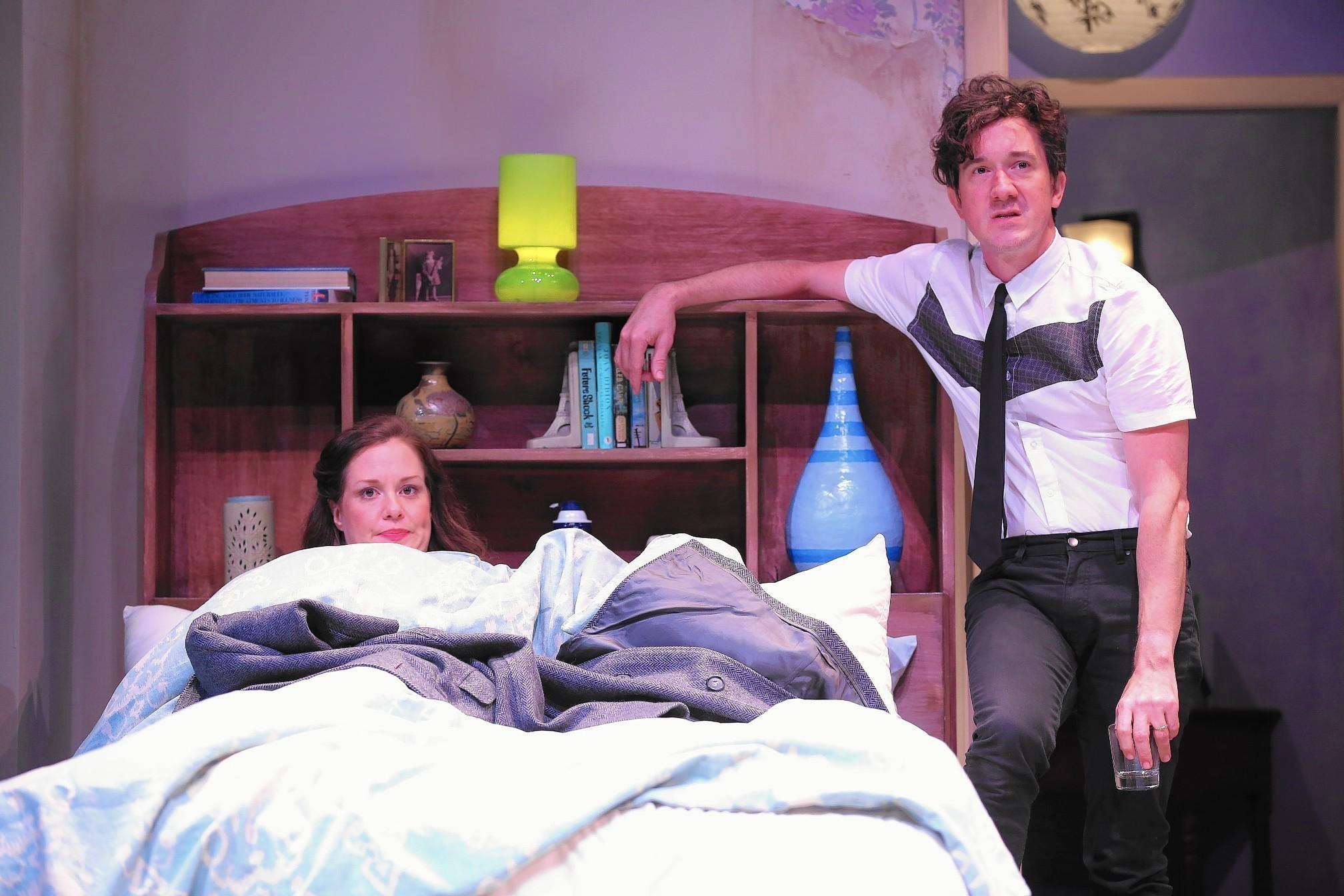 bedroom farce. Westport Playhouse  Bedroom Farce Uneven With Thin Plot Hartford Courant