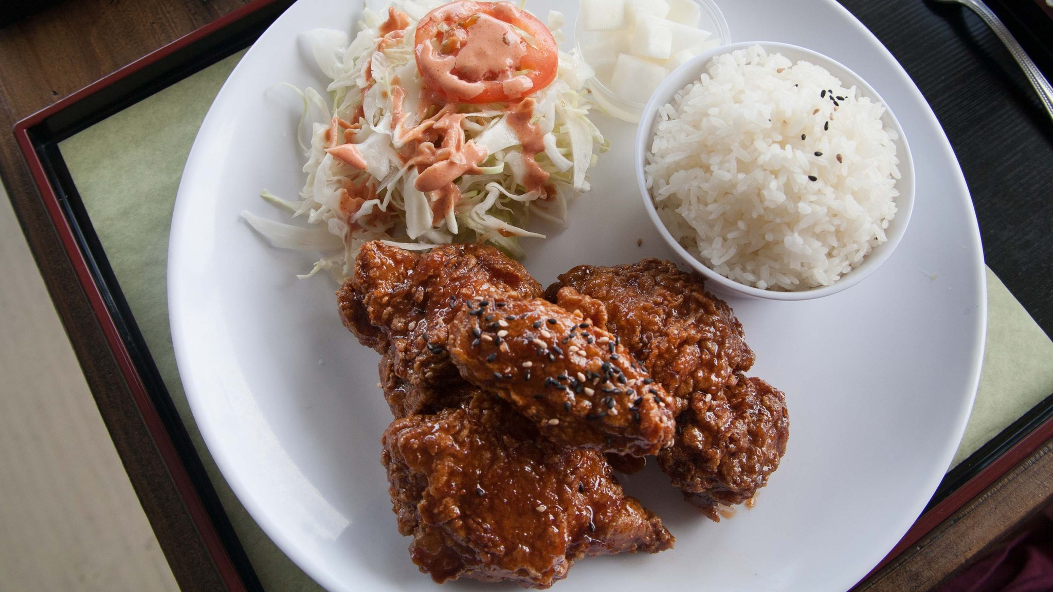 Dok Dok Chicken in K-Town: Korean fried chicken and fried Twinkies - Los Angeles Times
