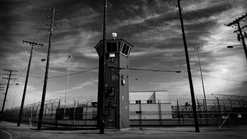 California State Prison in Corcoran.