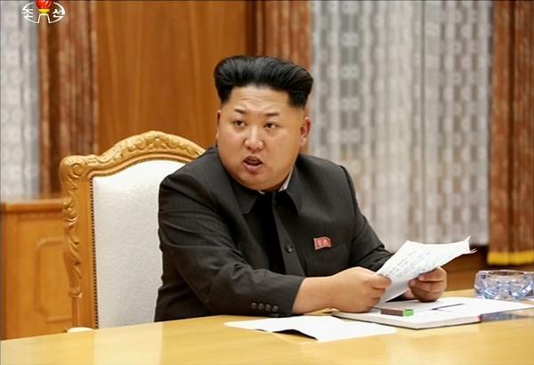 (North Korean TV/Yonhap)