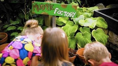 Midwestern gardens great places for young minds
