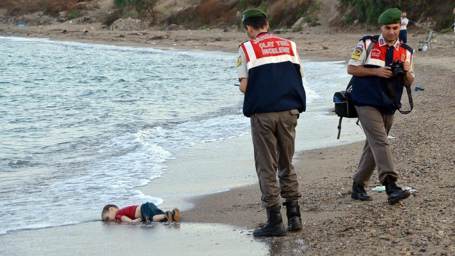 Migrant boat accident in Turkey
