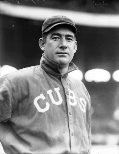 1914: Roger Bresnahan. Batted .278 in 101 games at catcher. Introduced shin guards for catchers. Former owner of the Toledo Mud Hens. Player/manager in 1915. Inducted into Hall of Fame in 1945, one year after his death.