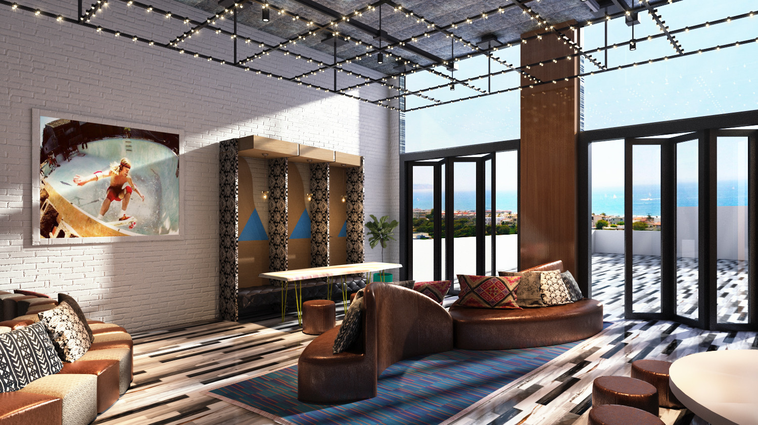 hermosa beach hotel renovation aims to bring you and. Black Bedroom Furniture Sets. Home Design Ideas