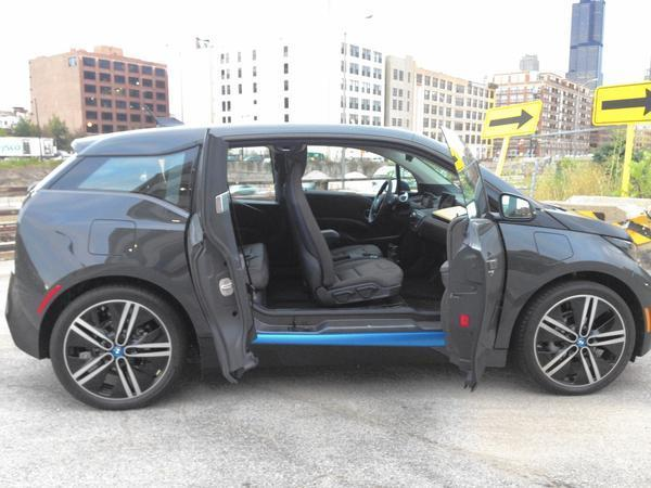 Used Cars In Chicago >> Auto review: 2015 BMW i3 plug-in car is an odd city car - Chicago Tribune