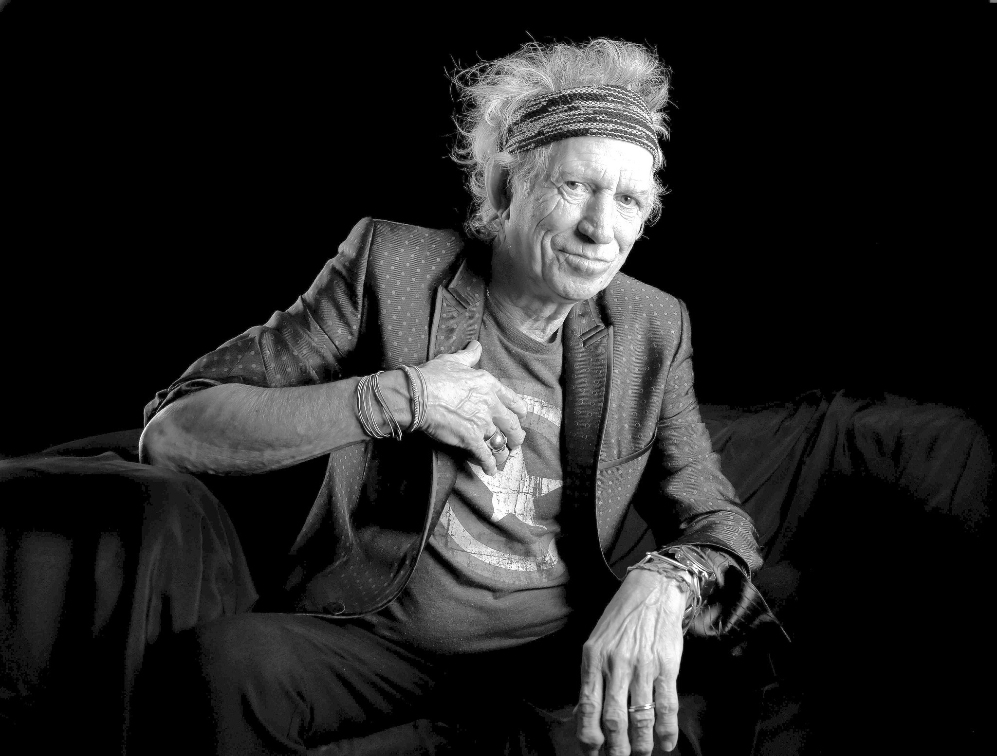 Photo found with the keywords keith richards 2016