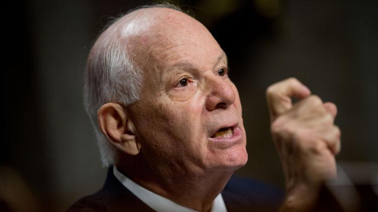 Sen. Benjamin L. Cardin (D-Md.). (Andrew Harnik / Associated Press)